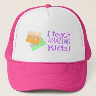 I Teach Amazing Kids (Numbers) Trucker Hat