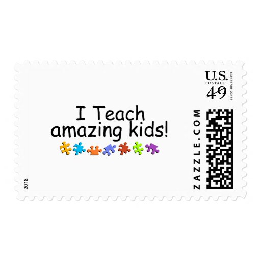 I Teach Amazing Kids (PP) Postage