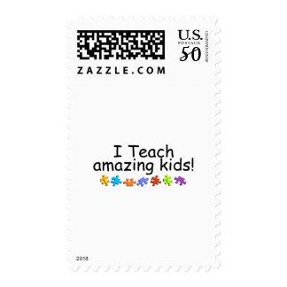I Teach Amazing Kids (Puzzle) Postage