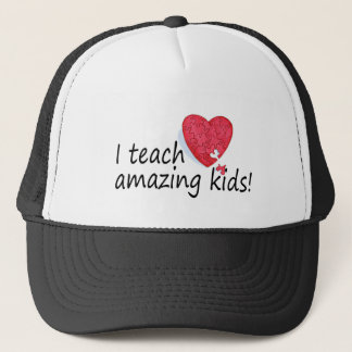I Teach Amazing Trucker Hat