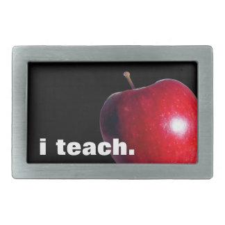 """""""i teach"""" BELT BUCKLE"""