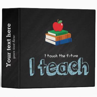 I teach binder