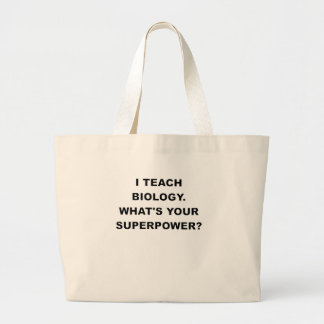 I TEACH BIOLOGY WHATS YOUR SUPERPOWER.png Canvas Bags