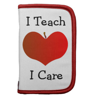 I Teach I Care Folio Planners