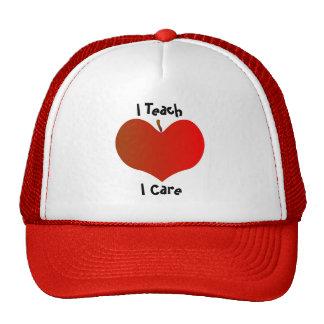 I Teach, I Care Hat
