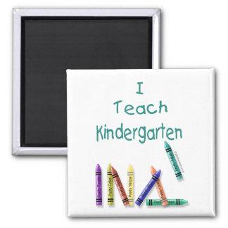 I Teach Kindergarten Magnet