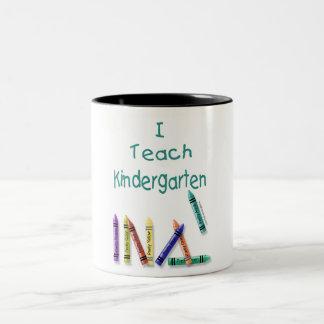 I Teach Kindergarten Mug