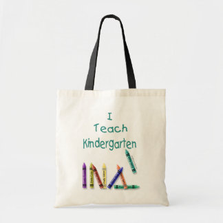 I Teach Kindergarten Tote Bag