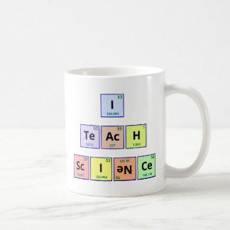 I Teach Science Coffee Mug