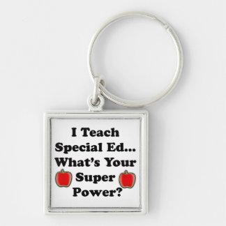 I Teach Special Ed. Keychains