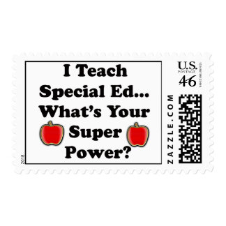 I Teach Special Ed Postage Stamp