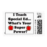 I Teach Special Ed. Postage Stamp
