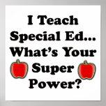 I Teach Special Ed. Poster