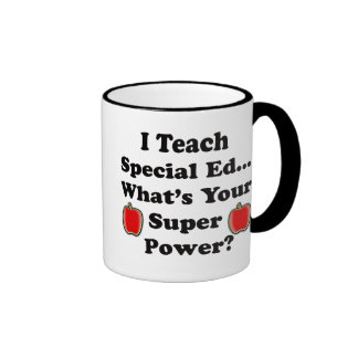 I Teach Special Ed. Ringer Mug
