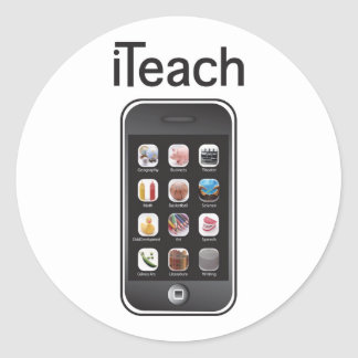I teach stickers