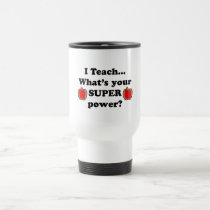 I teach travel mug