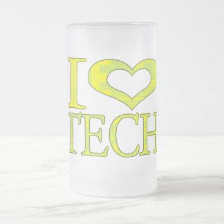I tecnología del corazón tazas