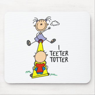 I Teeter Totter Mousepad