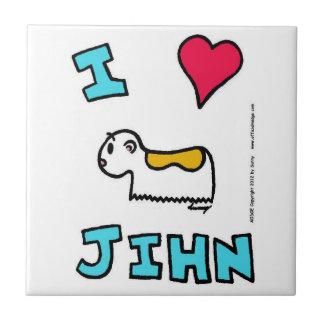 I teja de Jihn del corazón