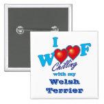 I tejido Terrier galés Pins