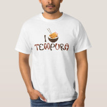 I Tempura Graphic Tee Shirt