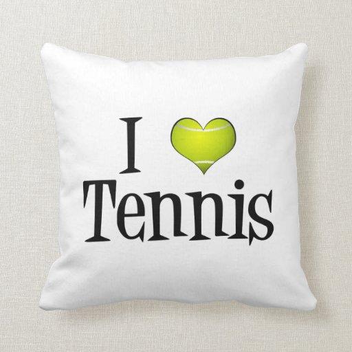 I tenis del corazón cojín