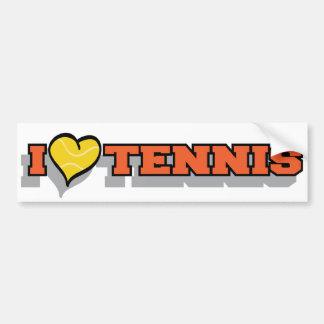 I tenis del corazón pegatina para auto
