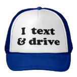 I texto y impulsión gorra