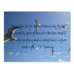 I Thank You God...E.E. Cummings Post Cards