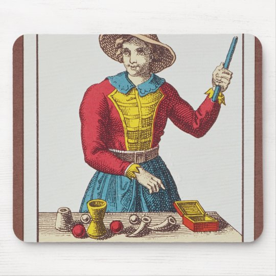 I The Magician, seven tarot cards Mouse Pad