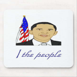 I the people mouse pad