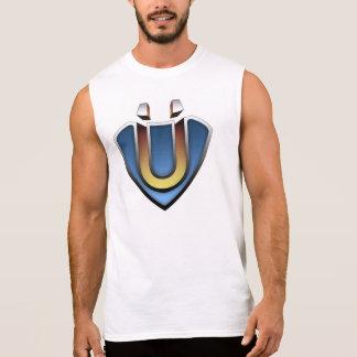 I-Theist White Sleeveless T-Shirt