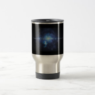I-Theistyoutube channel stainless steel coffee mug
