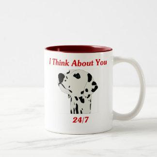 I Think About You 24/7 Mugs