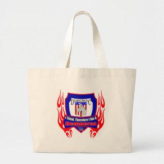 I Think Democrat Party Tote Bag