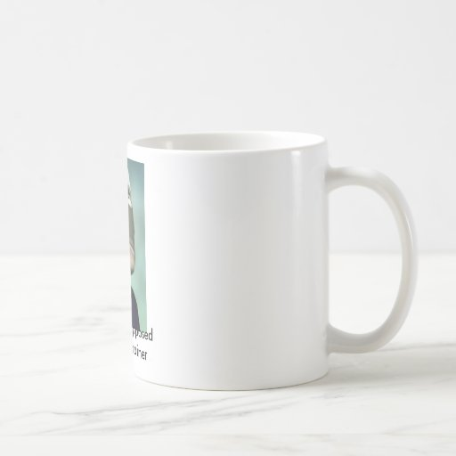 I think I am your Trainer Classic White Coffee Mug