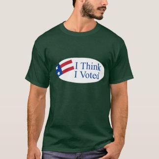 I think I voted T-Shirt