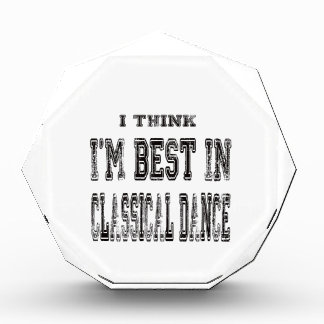 I Think I'm Best In Classical dance Awards