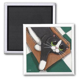 I Think It's Comfy Cat Magnet
