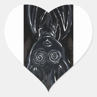 I Think It's Working (skinny design) Heart Sticker