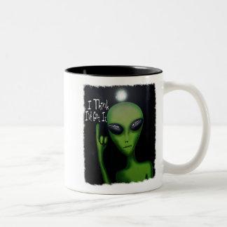 I Think I've Got It Comical Alien Mug