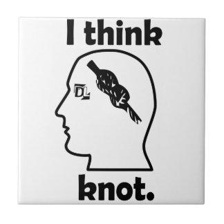 I think knot. ceramic tile