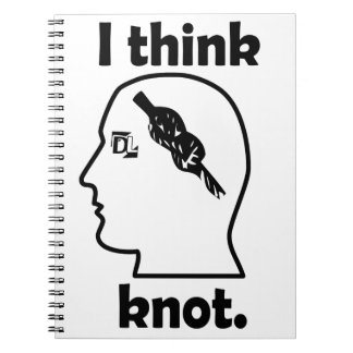 I think knot. spiral note books
