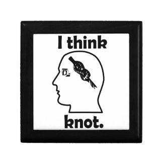 I think knot. trinket box