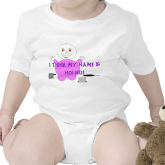 I think my name is NO! NO! Baby Bodysuits