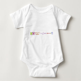 I think, therefore I am. Baby Bodysuit