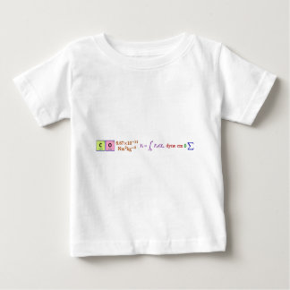I think, therefore I am. Baby T-Shirt