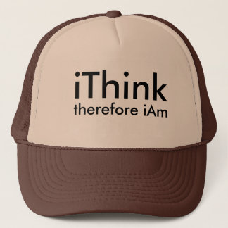 I think therefore i am - philosophical hat