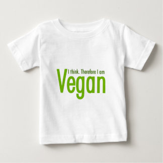I think.  Therefore I am Vegan T Shirt