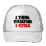 I Think Therefore I Cycle Mesh Hat